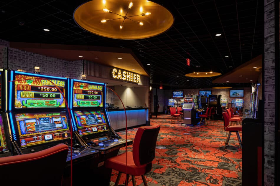 DOTB Cashier and Gaming Floor