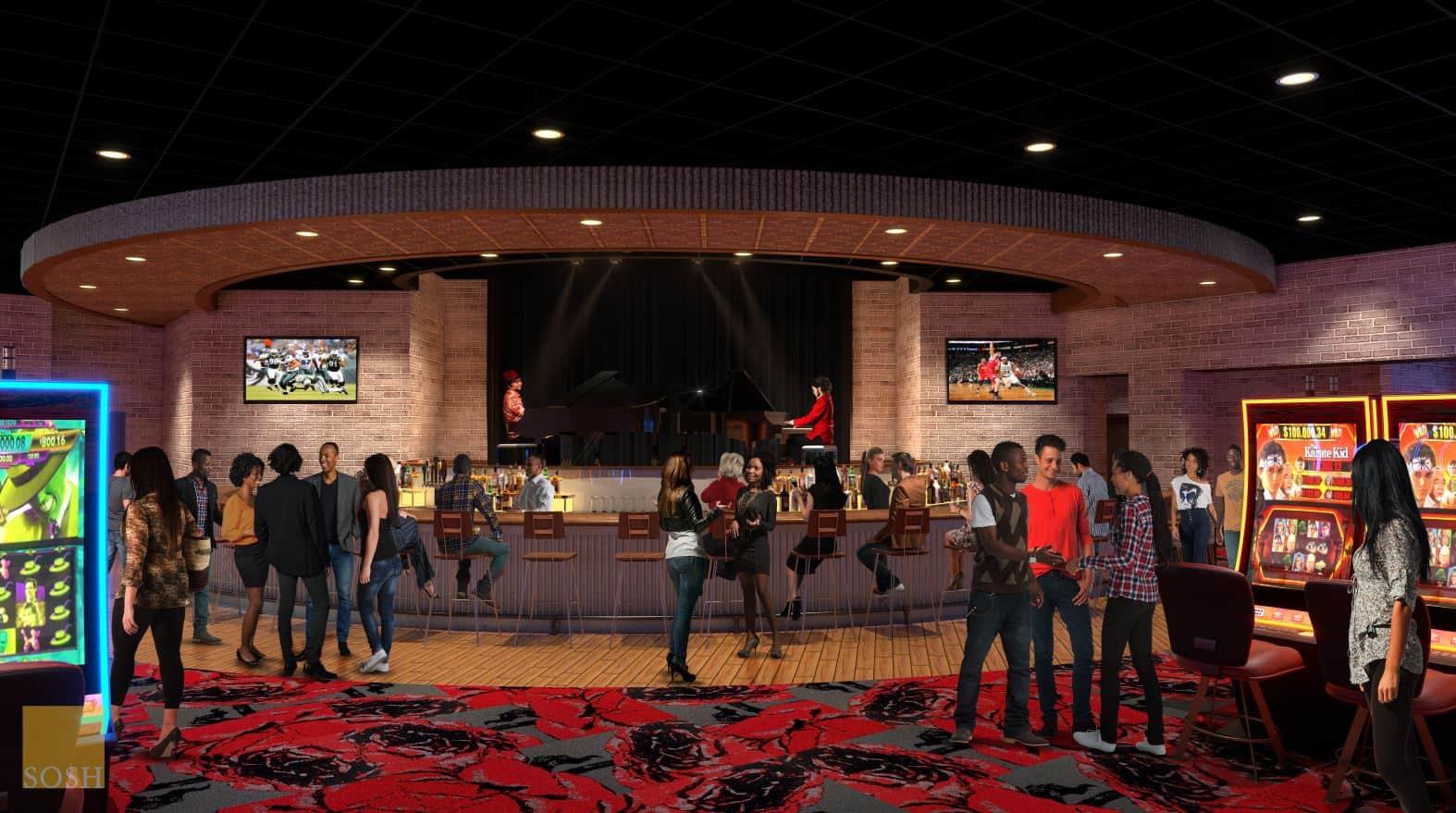 Vinton Expansion Bar Area Rendering